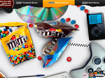 M&M'S Full Colour Gaming
